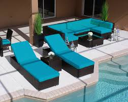 Modern Patio Chairs 19 Piece Modern Outdoor Patio Furniture Sofa Sectional Chaise