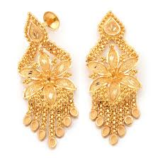 beautiful gold earrings holy gold jewellery limited
