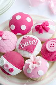baby shower cupcakes stock photo picture and royalty free image