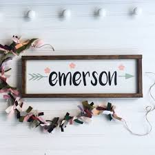 baby name plates best 25 baby name signs ideas on baby room decor for