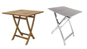 Outdoor Folding Tables 20 Square Folding Outdoor Dining Tables To Inspire You Home