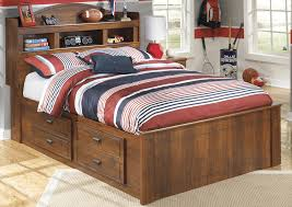 Bookcase Bed Full St Germain U0027s Furniture Barchan Full Bookcase Storage Bed