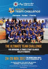 Team Challenge 2017 Iaha Healthfusion Team Challenge Indigenous Allied Health