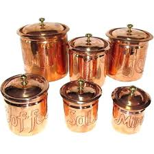 copper kitchen canister sets copper kitchen canisters mycrappyresume com