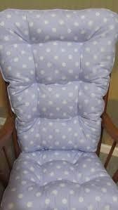 Nursery Rocking Chair Cushions Free Ship Rocking Chair Or Glider Cushions Set In Navy White