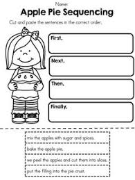 peanut butter and jelly sandwich sequence worksheet read the