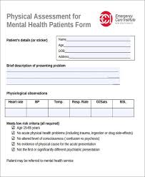 43 free assessment forms