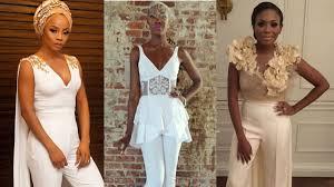 white wedding jumpsuit bridal jumpsuit loveweddingsng png