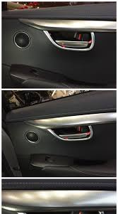 lexus door handle key cover fit for lexus nx 200t 300h chrome inside door handle cover trim