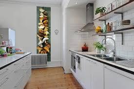 papier peint cuisine décoration murale cuisine papier peint lé unique chignons