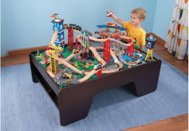 find more kidkraft super highway train set and table great