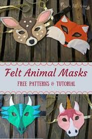 instant printable animal masks download mask templates