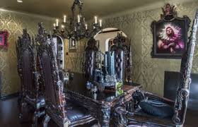 goth room gothic dining room home design ideas home design ideas