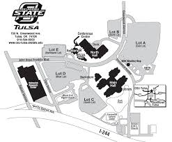 tulsa airport map cus map oklahoma state tulsa