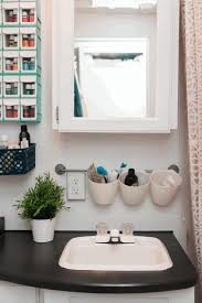 small bathroom shelves ideas stony wall tile black multi purpose
