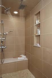 bathroom shower niche ideas detroit shower niche ideas bathroom contemporary with pebble tiles