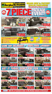 kitchener surplus furniture surplus furniture and mattress warehouse canada flyers