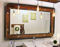 industrial bathroom mirrors industrial bathroom mirror home design ideas and pictures