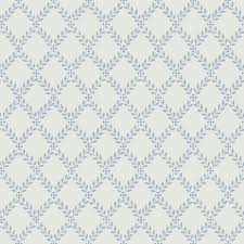 trellis leaves by boråstapeter blue and white wallpaper direct