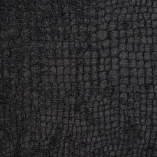 Alligator Upholstery Black Alligator Print Shiny Woven Velvet Upholstery Fabric By The
