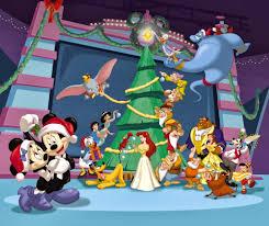 mickey mouse christmas wallpapers pixelstalk net