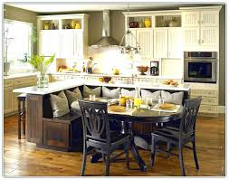 Kitchen Island With Built In Seating Awe Inspiring Kitchen Island With Built In Seating Kitchen