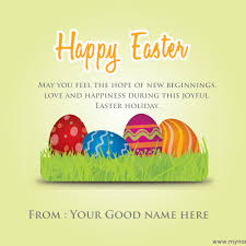 write name on of easter quotes ecard free wishes