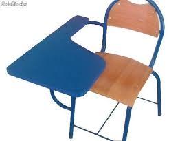 chaise m tallique chaise semi métallique avec écritoire