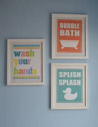 Wall Art Ideas For Bathroom Free Printable Wall Art Inexpensive Easy Fun Art Thanks