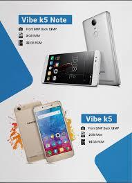 Stylish Design Lenovo Vibe K5 And K5 Note Smartphone Stylish Design 4g