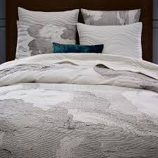 400 thread count organic cloud duvet cover west elm
