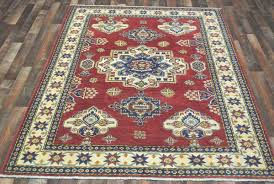 Pak Kazak Rugs Red And Beige Pakistan Kazak Rug 5 U00276x8 U00272 U2013 Fine Rug Collection