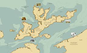Map Of Newport Ri New Penzance Island A Very Wes Anderson Treasure Map Big Think