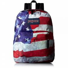 Flag Backpack Jansport Mens Classic Mainstream High Stakes Backpack Multi