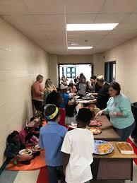 third grade thanksgiving feast mcgehee schools