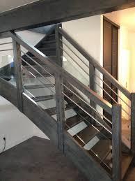 garde corps bois escalier interieur menuiserie escalier bois besançon doubs 25 sur mesure