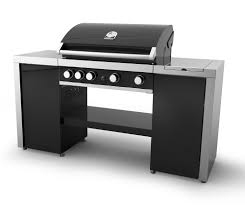backyard grill 4 burner grandhall maxim gt4sb island 4 burner gas barbecue rrp 899 99