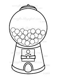 gumball machine coloring page picture i u0027m going to use this to
