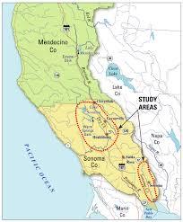 Sonoma Winery Map Sonoma Ca Map Adriftskateshop