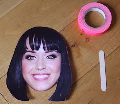 how to make a super quick celebrity mask ladylandladyland