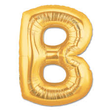 jumbo balloons letter b gold foil balloon 40 inch inflated balloon shop nyc