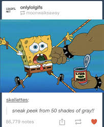 50 Shades Of Gray Meme - 50 shades of patrick meme by braydensmith memedroid