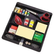 3m Desk Drawer Organizer C71 Post It Recycled Plastic Desk Drawer Organizer Tray