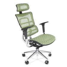 green ikayaa ergonomic mesh swivel office gaming computer chair