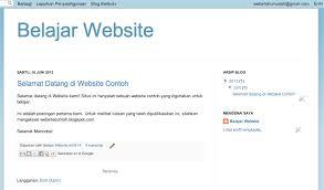 cara membuat blog tulisan cara membuat blog di blogger berliyanto