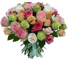 color roses buy multi color roses online send to lebanon delivery same day