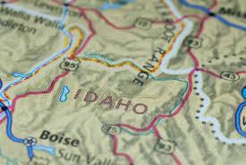Idaho On Map Maps Of Idaho U2022 Map Geeks