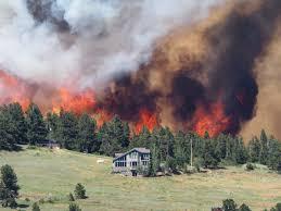 Wildfire Near Fort Collins Colorado by More Evacuations Pending For Wildfire Near Nederland Cbs Denver