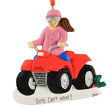 4 wheeler atv ornament personalized