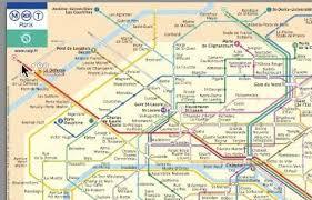 underground map zones metro by